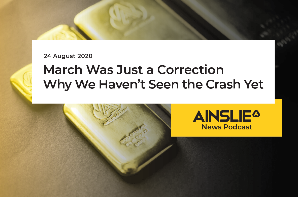 March Was Just a Correction – Why We Haven't Seen the Crash Yet