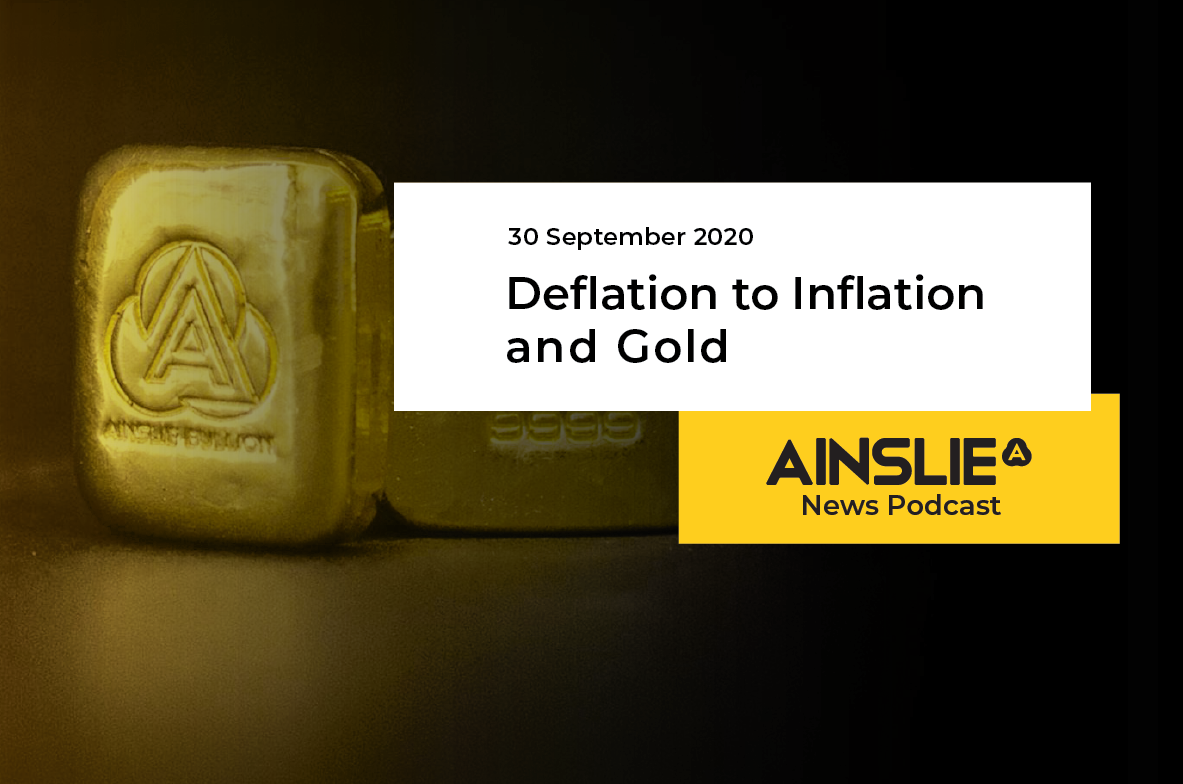 Deflation to Inflation & Gold