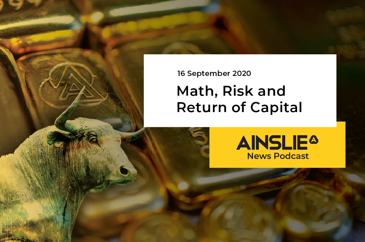 Math, Risk and Return of Capital