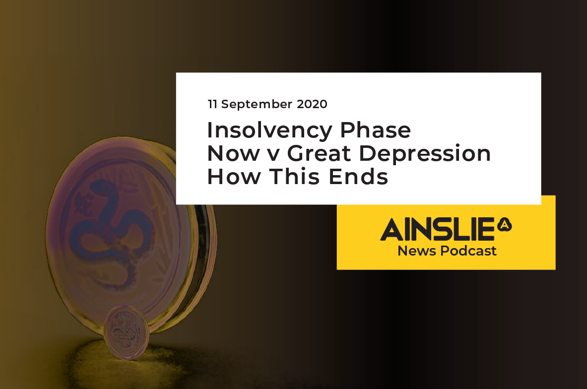 Insolvency Phase – Now v Great Depression – How this ends