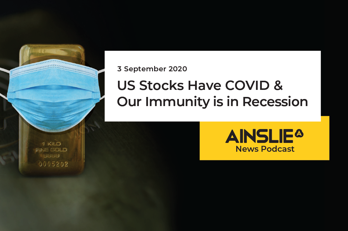 US Stocks Have COVID & Our Immunity is in Recession