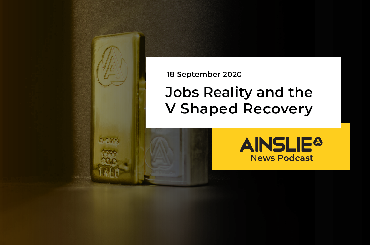 Jobs Reality and the V Shaped Recovery