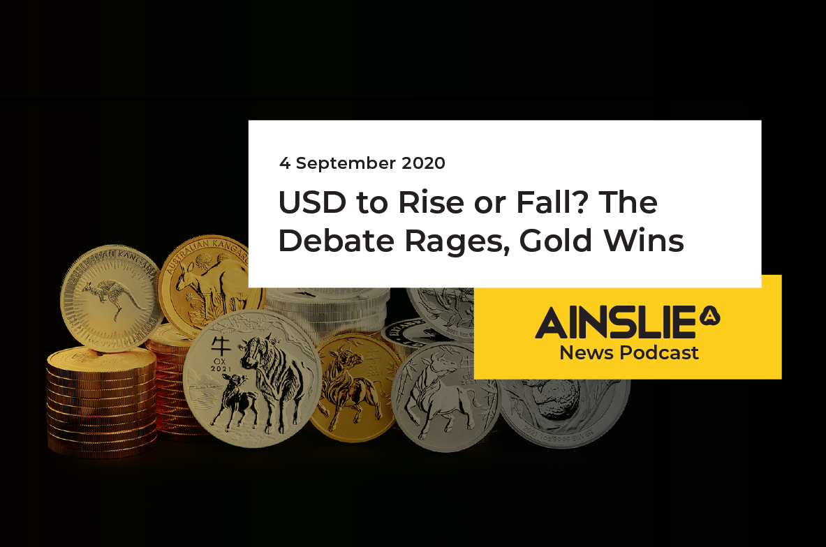 USD to Rise or Fall?  The Debate Rages, Gold Wins