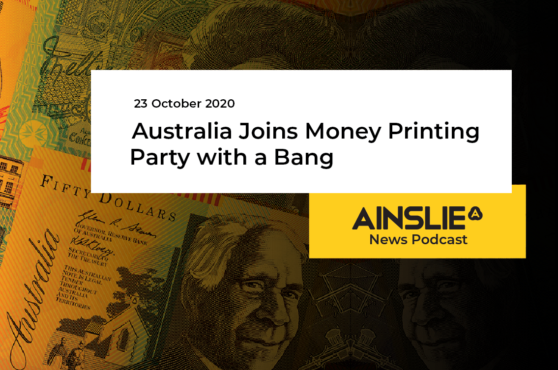 Australia Joins Money Printing Party with a Bang
