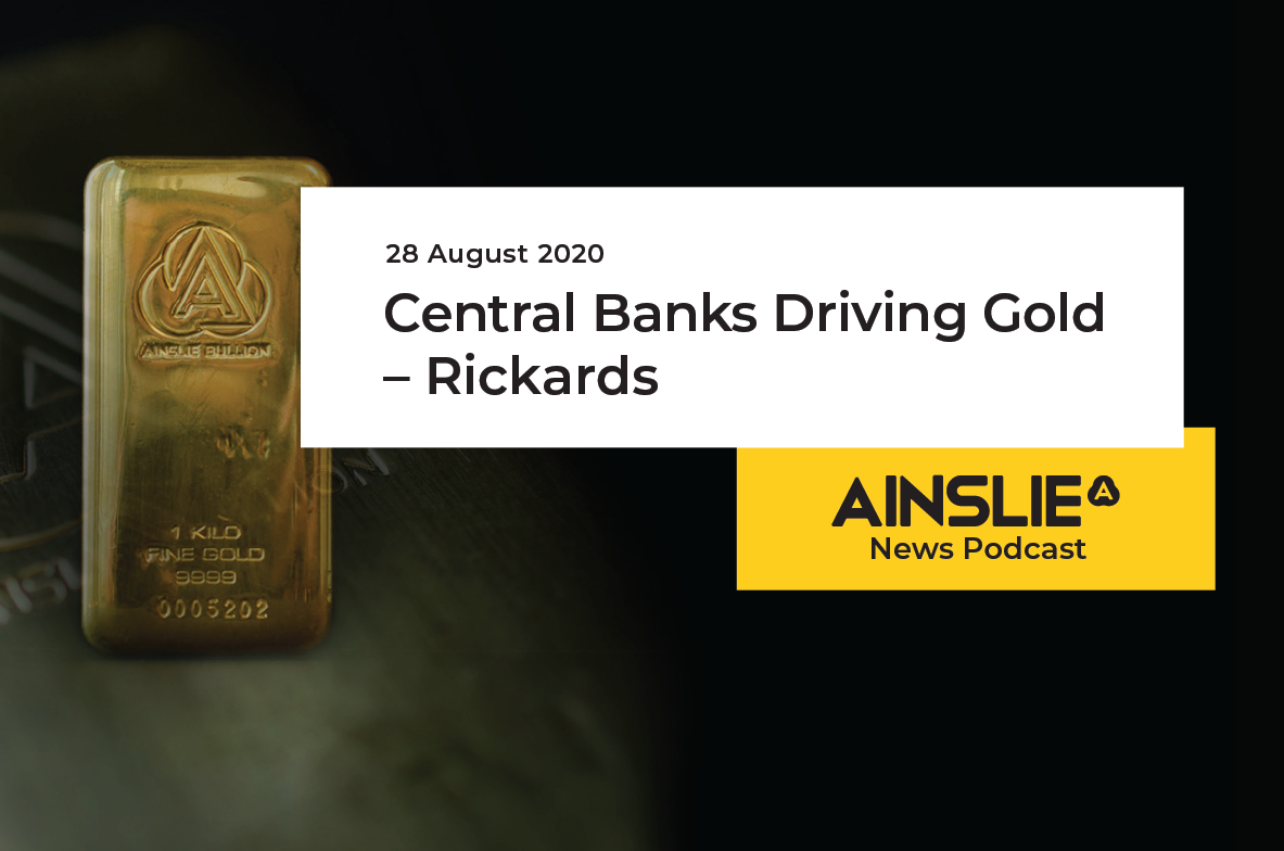 Central Banks Driving Gold – Rickards