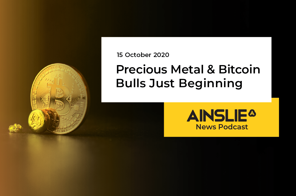 Precious Metal & Bitcoin Bulls Just Beginning