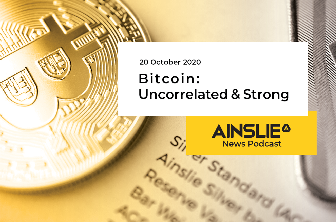 Bitcoin: Uncorrelated and Strong