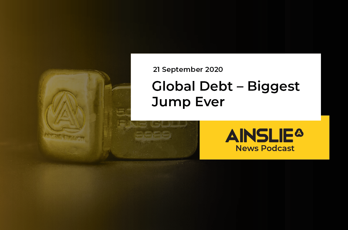 Global Debt – Biggest Jump Ever