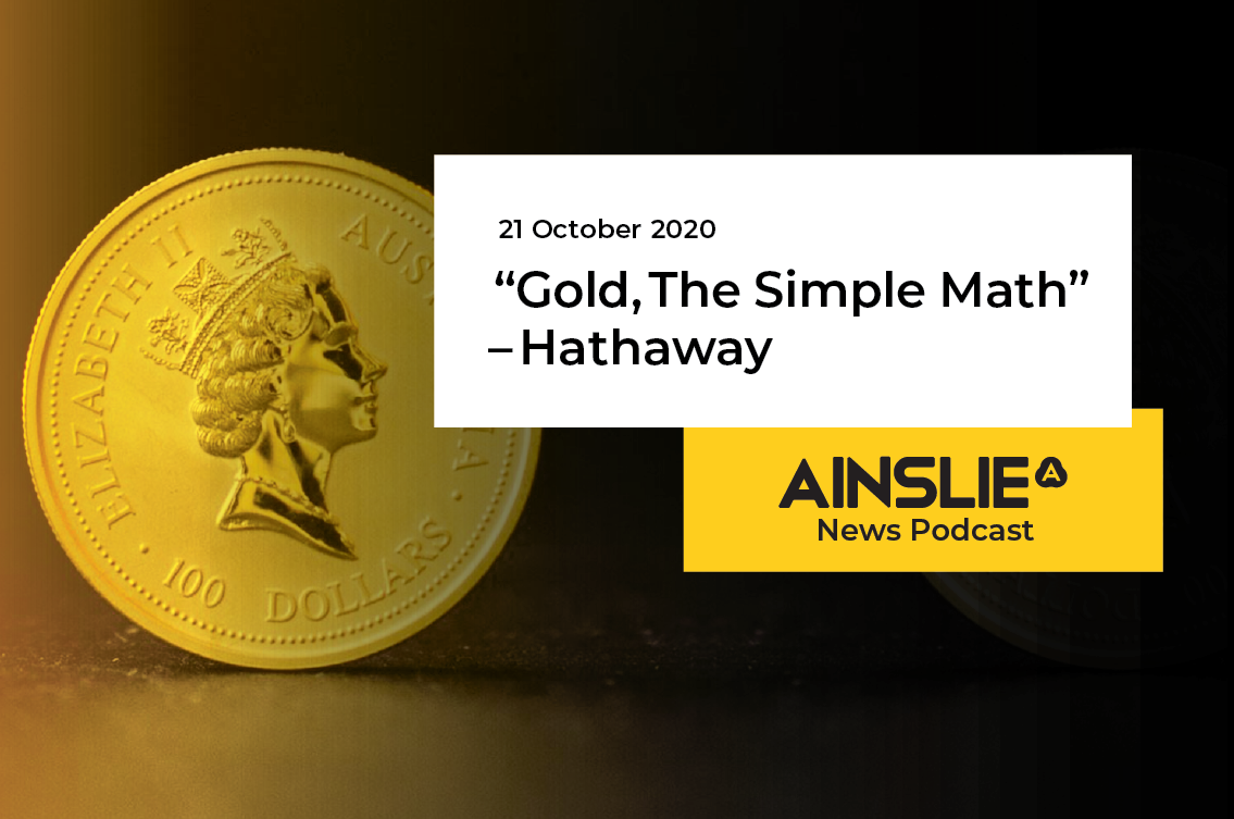 """Gold, The Simple Math"" - Hathaway"